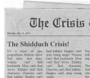 Rethinking the Shidduch Crisis
